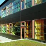 Holz-Alu-Fassade. FÖZ Bremen