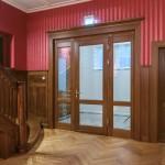 Detailgetreue Nachbildung von Innentüren gemäß Denkmalschutzvorgaben. Karl-Jaspers Bibliothek Oldenburg
