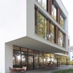 Passivhauszertifizierte Fassade. Roland Activo Bremen