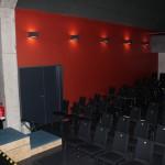 2-flg. Türanlage im Bühnenraum