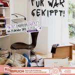 Plakat Tag des Einbruchschutzes