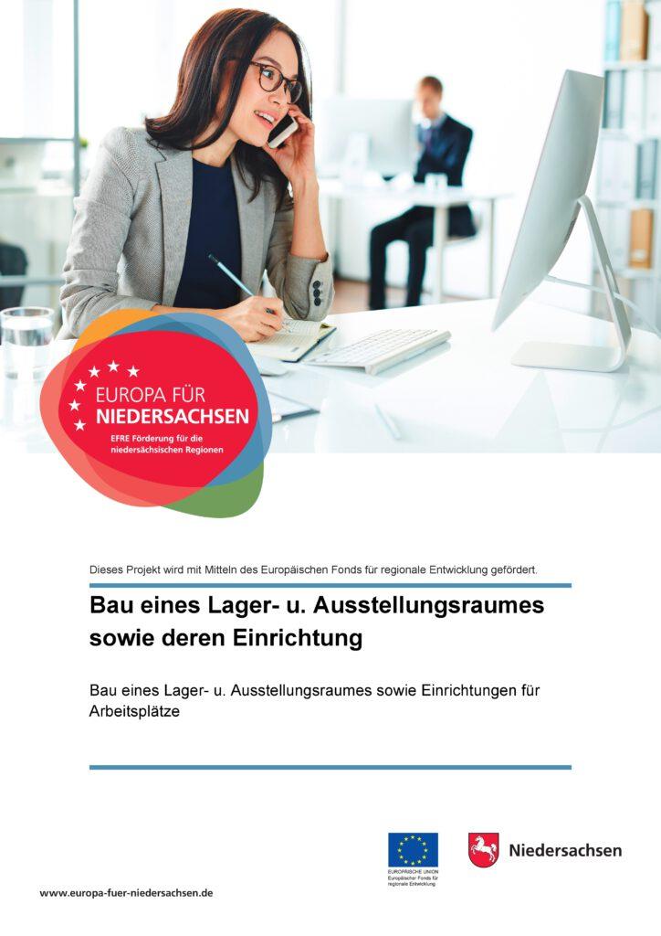 Europa für Niedersachsen - Plakat zum Projekt